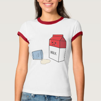 Crying over spilled milk shirt