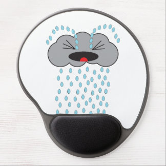 Crying Rain Cloud Gel Mouse Pads