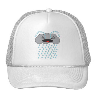 Crying Rain Cloud Trucker Hat