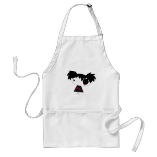 Crying Red Adult Apron