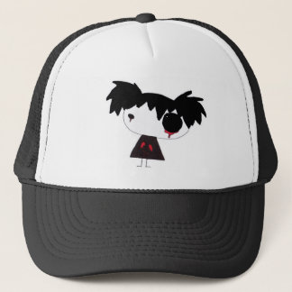 Crying Red Trucker Hat
