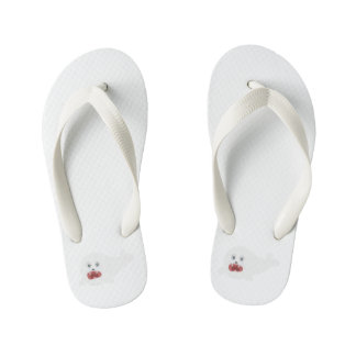 Crying seal Zsgsx Kid's Flip Flops