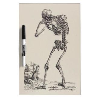 Crying Skeleton Dry-Erase Board