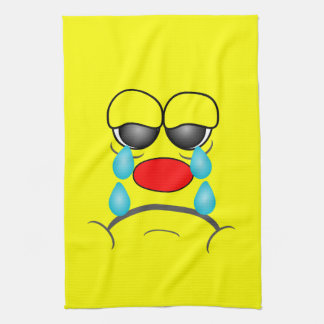 Crying Smiley Towel