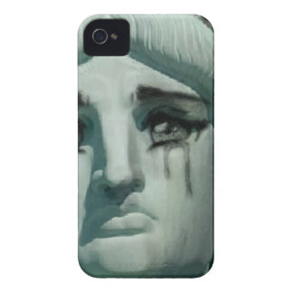 Crying Statue of Liberty iPhone 4 Case-Mate Case