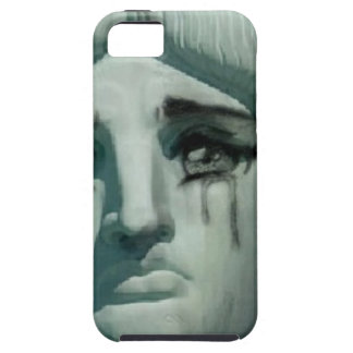 Crying Statue of Liberty iPhone SE/5/5s Case