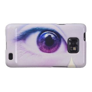 Crying Tears Samsung Galaxy Case Samsung Galaxy SII Cover