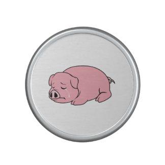 Crying Weeping Pink Pig Piglet Card Mug Pillow Pin Speaker