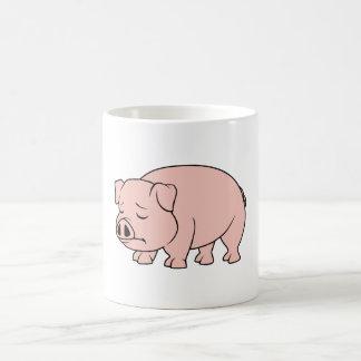 Crying Weeping Pink Piglet National Pig Day Mugs