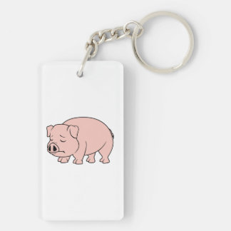 Crying Weeping Pink Piglet National Pig Day Mugs Keychain
