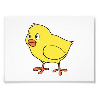 Crying Yellow Chick National Chicken Day Card Mug Photo