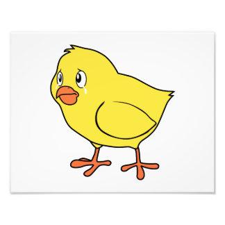 Crying Yellow Chick National Chicken Day Card Mug Photo Print