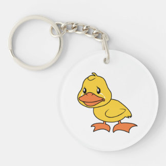 Crying Yellow Duckling Lame Duck Day Mug Button Acrylic Key Chain