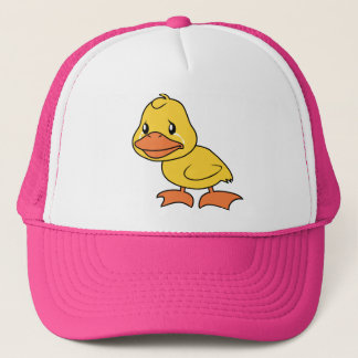 Crying Yellow Duckling Lame Duck Day Mug Button Trucker Hat