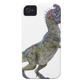 Cryolophosaurus en perfil lateral funda para iPhone 4 de Case-Mate