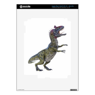 Cryolophosaurus in Side Profile Decals For iPad 3