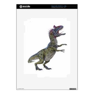 Cryolophosaurus in Side Profile Skin For The iPad 2