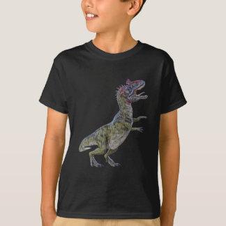 Cryolophosaurus in Side Profile T-Shirt