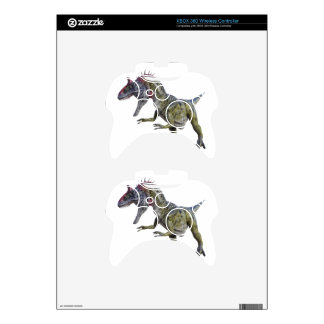 Cryolophosaurus Looking Down to the Right Xbox 360 Controller Decal