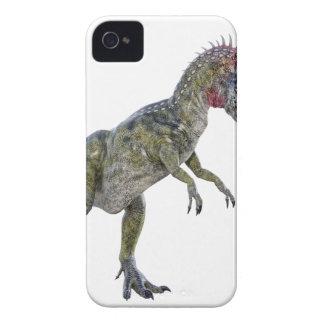 Cryolophosaurus que corre a la izquierda carcasa para iPhone 4