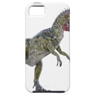 Cryolophosaurus que corre a la izquierda funda para iPhone SE/5/5s