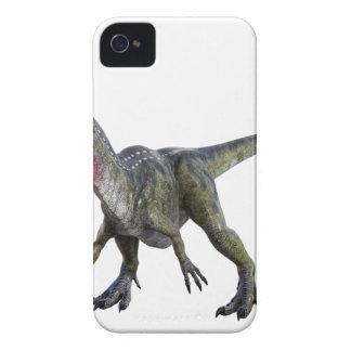 Cryolophosaurus que se pone en cuclillas y que carcasa para iPhone 4