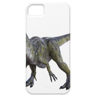 Cryolophosaurus que se pone en cuclillas y que funda para iPhone SE/5/5s