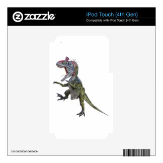 Cryolophosaurus Running and Leaping iPod Touch 4G Decal