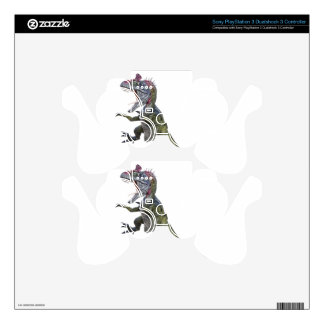 Cryolophosaurus Running and Leaping PS3 Controller Skin