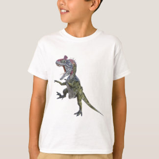 Cryolophosaurus Running and Leaping T-Shirt
