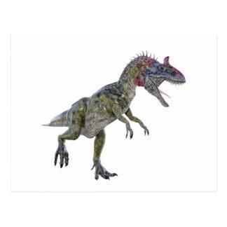 Cryolophosaurus Running to the Left Postcard