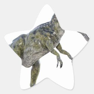 Cryolophosaurus Running to the Left Star Sticker