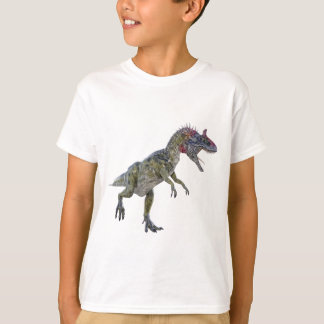 Cryolophosaurus Running to the Left T-Shirt