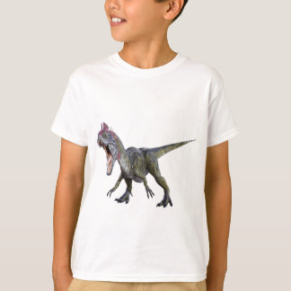 Cryolophosaurus squatting and  Roaring T-Shirt