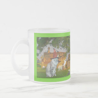 Crypt Keeper Frosted Glass Coffee Mug