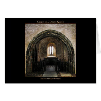 Crypt of a Pirate Queen Greeting C... Card