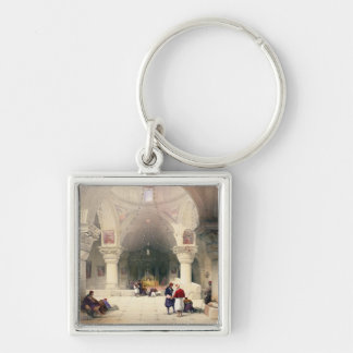 Crypt of the Holy Sepulchre Jerusalem plate 20 f Keychains