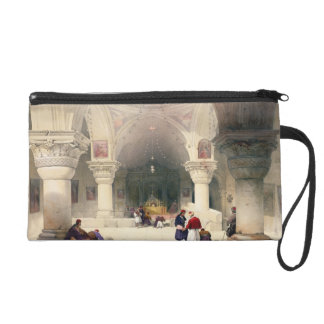 Crypt of the Holy Sepulchre, Jerusalem, plate 20 f Wristlet Purse