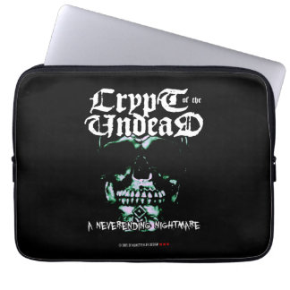 crypt OF the undead Laptop Sleeves