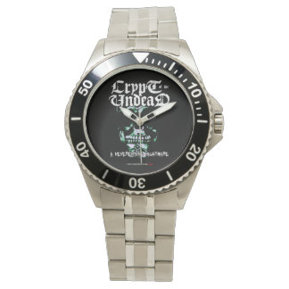 crypt OF the undead Wristwatch