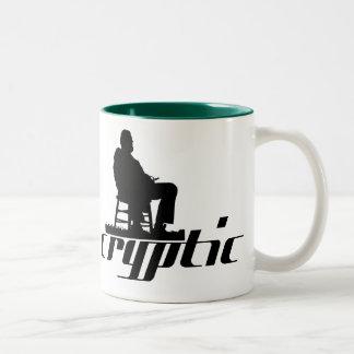 Cryptic mug