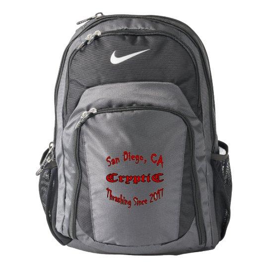 ae63b46d9 Cryptic Thrashing Logo Backpack