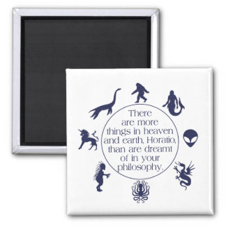 Cryptids 2 Inch Square Magnet