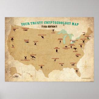 Cryptids del poster de Estados Unidos