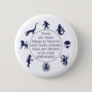 Cryptids Pinback Button
