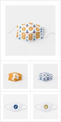 Crypto Face Masks