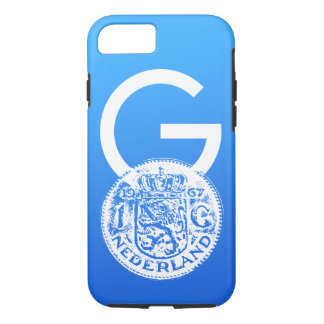 Crypto Gulden symbol & One Guilder coin iPhone 7 Case