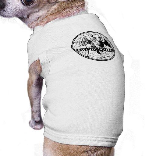 Cryptobebelem - camisa minúscula del perro ropa de perros