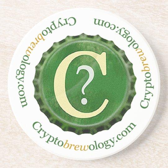Cryptobrewology Logo Coaster