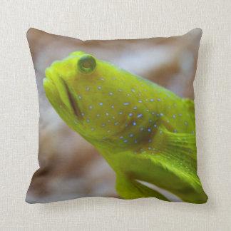 Cryptocentrus cinctus throw pillow